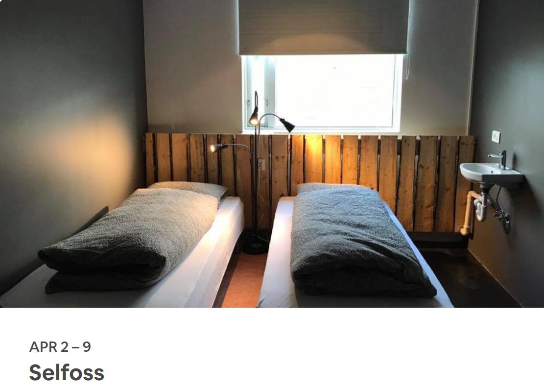 FIRST STOP: Selfoss, Iceland
